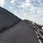 Bezoek aan de Vesuvius