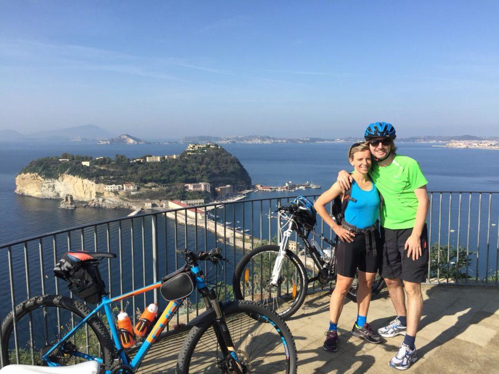 fietsen posillipo Napels