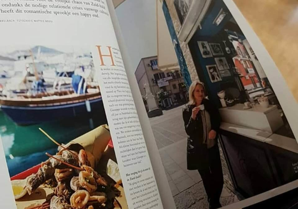 Local in Naples in Italië Magazine