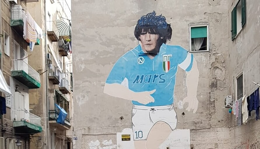 Waarom is Maradona een God in Napels?
