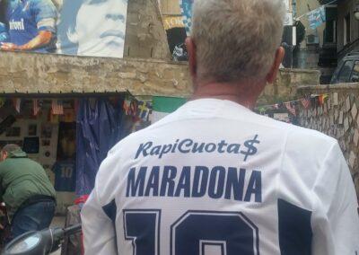 Voetbal Maradona Napels