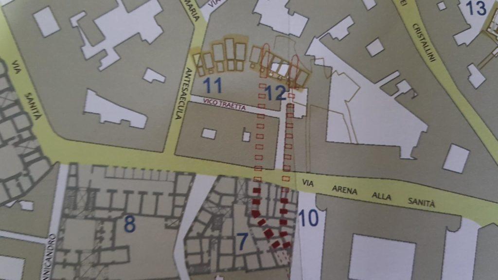 Borgo dei vergini ondergronds Napels