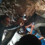 ondergronds Romeins aquaduct in Napels
