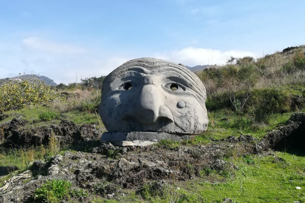 kunst op de Vesuvius