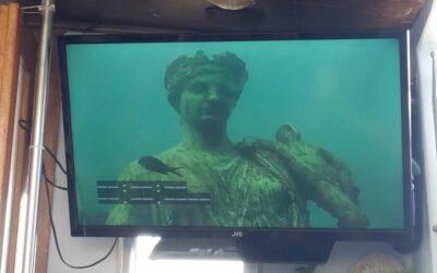 De verzonken stad van Baia, Pompeï in de zee.