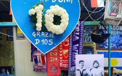 Van voetbalpleintje tot museum van Maradona in Napels