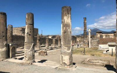 Hoe bereik ik vanaf Napels de opgravingen van Pompeii?