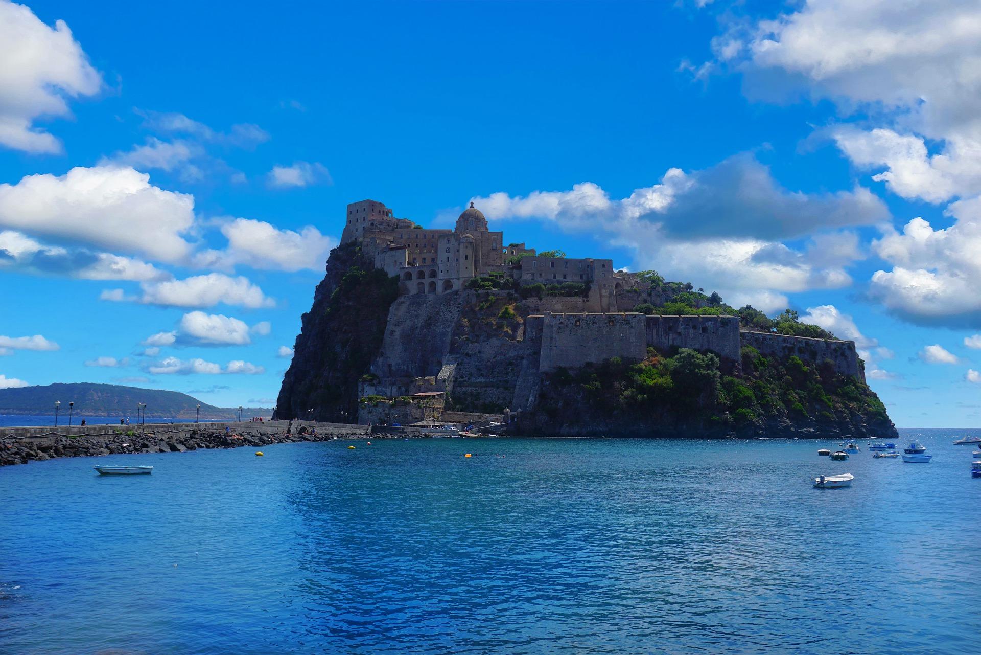 excursie Ischia kasteel