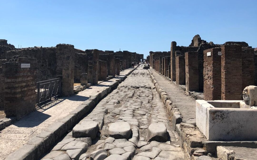 Een coronaproof bezoek aan Pompeii, zomer 2021